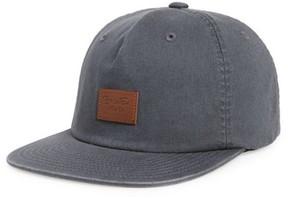Brixton Men's Grade Ii Snapback Baseball Cap - Grey