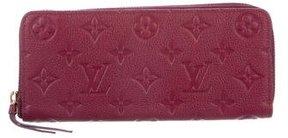 Louis Vuitton 2016 Clémence Empreinte Wallet - PURPLE - STYLE