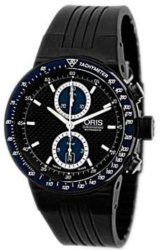 Oris Williams F1 Team Chronograph Black PVD Stainless Steel Strapwatch