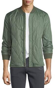 J Brand Men's Quilted Bomber Jacket