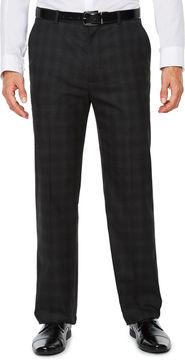Jf J.Ferrar Plaid Stretch Classic Fit Suit Pants