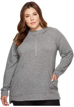 Lucy Extended Om 1/2 Zip Women's Sweatshirt