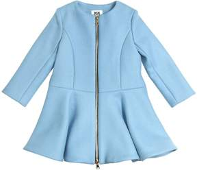Milly Minis Double Face Wool Blend Coat