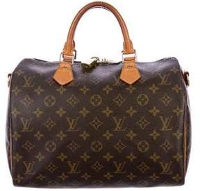 Louis Vuitton Monogram Speedy Bandouliére 30
