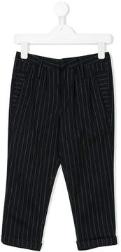 DKNY pinstripe tailored trousers