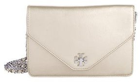 Tory Burch Metallic Kira Crossbody Bag - GOLD - STYLE