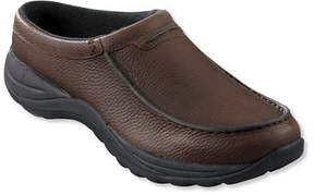 L.L. Bean Men's Comfort Mocs, Leather Slides