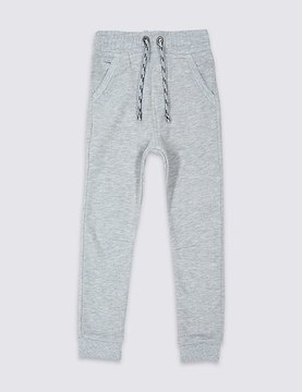 Marks and Spencer Cotton Rich Joggers (3 Months – 5 Years)
