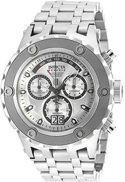 Invicta Men's 'Subaqua' Swiss Quartz Stainless Steel Casual Watch, Color:Silver-Toned (Model: 90118)