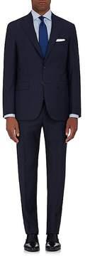 Canali Men's Plaid Wool Two-Button Suit