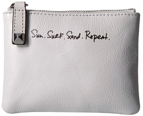Rebecca Minkoff Betty Pouch - Sun. Surf. Sand. Repeat. Handbags - OPTIC WHITE - STYLE