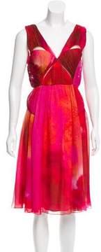 Matthew Williamson Printed Silk Dress w/ Tags