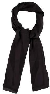Fendi Silk Striped Scarf