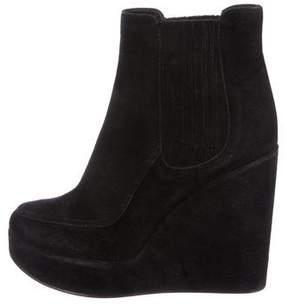Laurence Dacade Suede Wedge Boots
