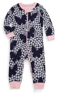 Hatley Baby's Butterfly Cotton Coverall