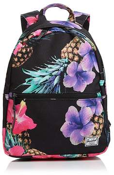 Herschel Grove Pineapple-Print Canvas Backpack