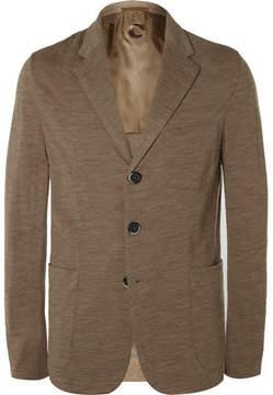 Barena Sand Slim-Fit Unstructured Wool And Cotton-Blend Blazer