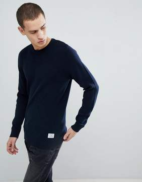 Jack and Jones Core Knitted Sweater With Button Shoulder