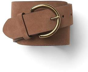 Gap Suede contour belt