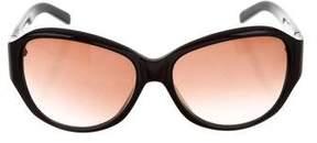 Valentino Logo Oversize Sunglasses