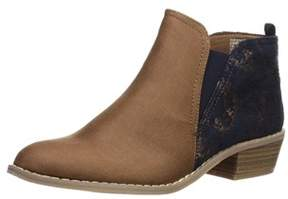 Rampage Women's Saddie Casual Double Gore Chelsea Ankle Boot.