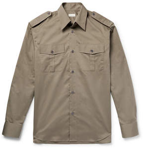 Dries Van Noten Oversized Cotton-Twill Shirt