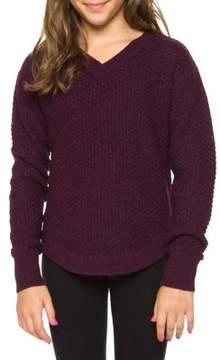 Dex Girl's Textured Sweater