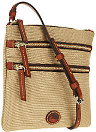 Dooney & Bourke Nylon North/South Triple Zip Bag - ONE COLOR - STYLE