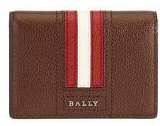 Bally Pebble Textured Leather Wallet