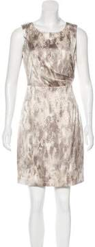 Tahari Satin Sleeveless Dress