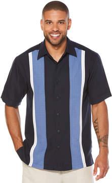 Cubavera Short Sleeve Panel Shirt