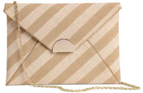 H&M Canvas Clutch Bag - White
