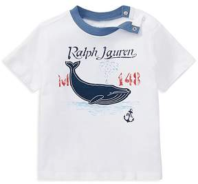 Ralph Lauren Boys' Jersey Appliqué Top - Baby