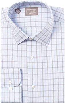Ike Behar Ike By Tailored Fit Dress Shirt