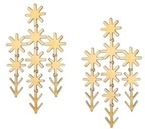 Asha Women's Uma Chandelier Earrings