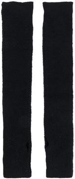 MM6 MAISON MARGIELA long knitted fingerless gloves