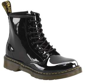 Dr. Martens Unisex Children's Delaney 8 Eye Side Zip Boot - Junior