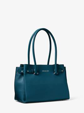 MICHAEL Michael Kors Addison Medium Pebbled Leather Tote