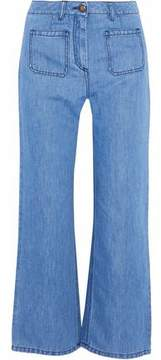 Belstaff High-Rise Wide-Leg Denim Culottes