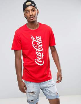 Pull&Bear Coca Cola T-Shirt In Red
