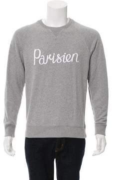 MAISON KITSUNÉ 2017 Parisien Graphic Sweatshirt