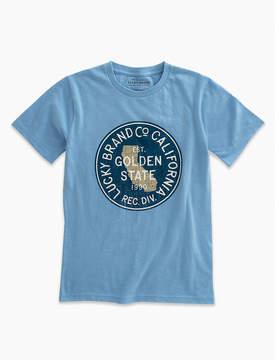 Lucky Brand Short Sleeve Golden State Tee