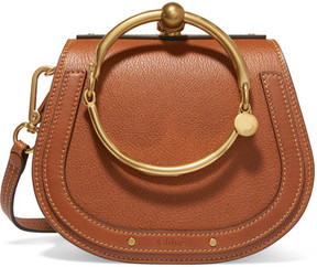 Chloé - Nile Small Leather Shoulder Bag - Brown