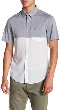 Original Penguin Lawn Colorblock Short Sleeve Regular Fit Shirt