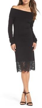Chelsea28 Women's Off The Shoulder Sheath Dress