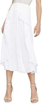 BCBGMAXAZRIA Bre Pleated Midi Skirt