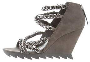 Camilla Skovgaard Suede Wedge Sandals
