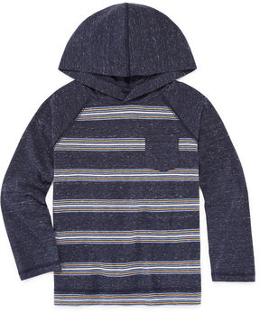 Arizona Long Sleeve Hooded Knit Shirt - Preschool Boys