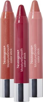 Neutrogena MoistureSmooth Color Stick Trio