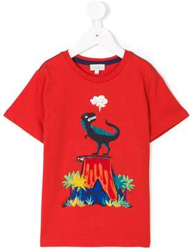 Paul Smith dinosaur volcano T-shirt